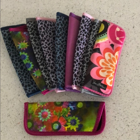 assorted - one Vera Bradley included Accessories - 10 assorted READER eyeglass cases